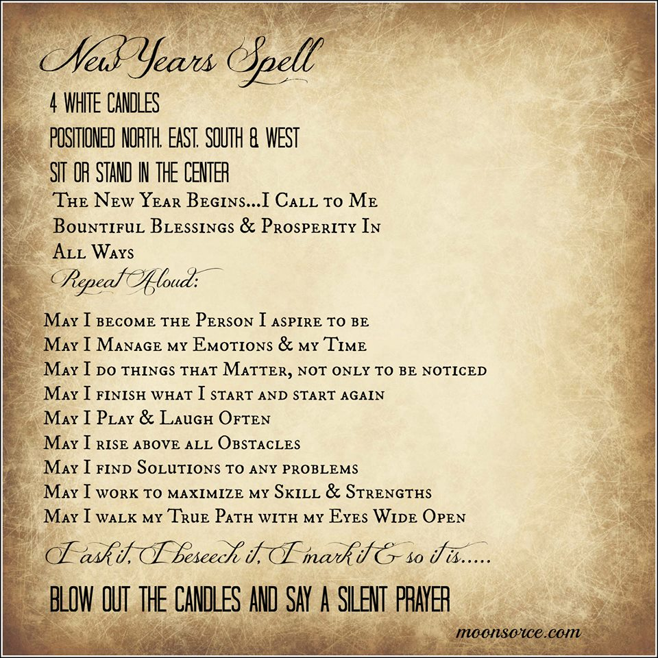 New Years Spell