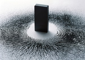 magnet-and-iron-filings