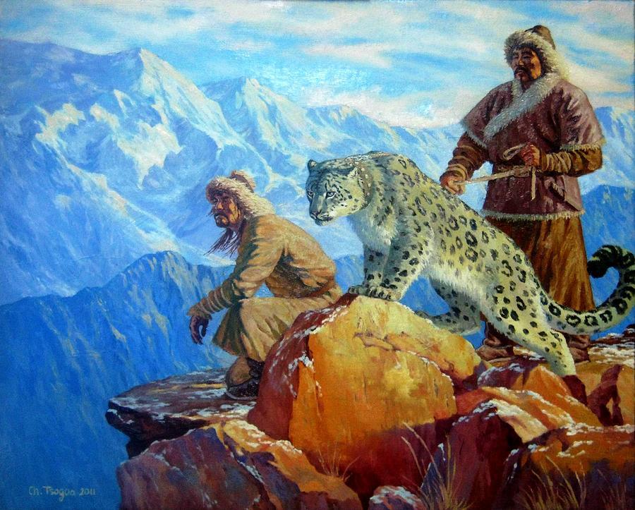 hunting-with-snow-leopard-tsogbayar-chuluunbaatar